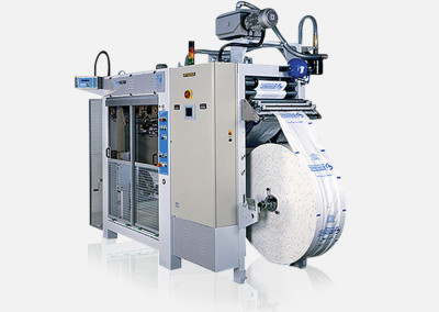 """Form Fill and Seal"" bagging machines for plastic bags"