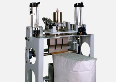 Cerradora de bolsas de válvula con ultrasonido