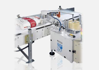 Lignes de fermeture pour sacs à valve avec étiquetage