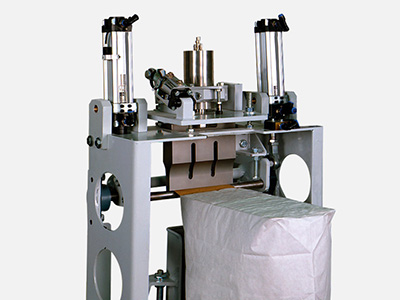 Ultrasonic sealers for valve bags