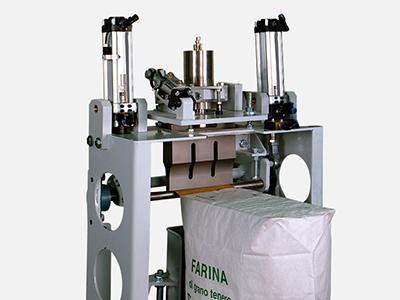 Ultrasonic sealers for valve bags