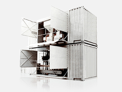 Unità mobili di insacco (in container)