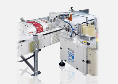 Valve bag sealers by labelling