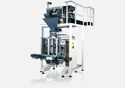 Verpackungsmaschinen für kleine Kunststoffsäcke (FFS)